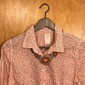 J Crew Perfect Shirt in Floral, 6